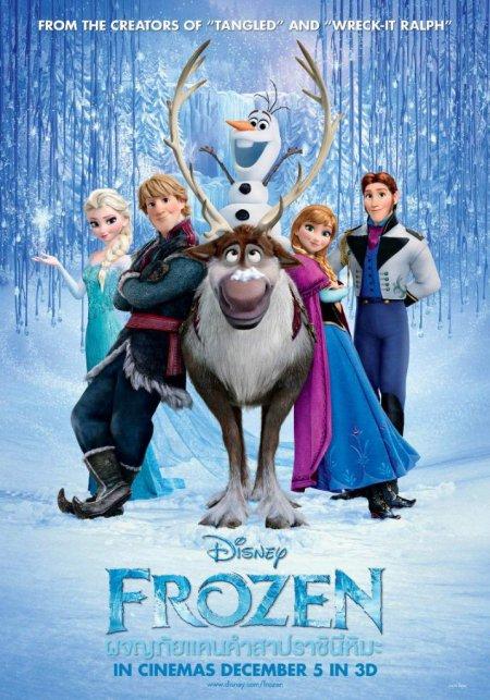 Frozen ผจญภัยแดนคำสาปราชินีหิมะ 2013