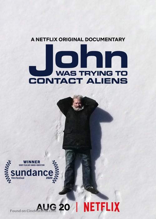 John Was Trying to Contact Aliens จอห์นผู้สานสัมพันธ์ต่างดาว (2020)