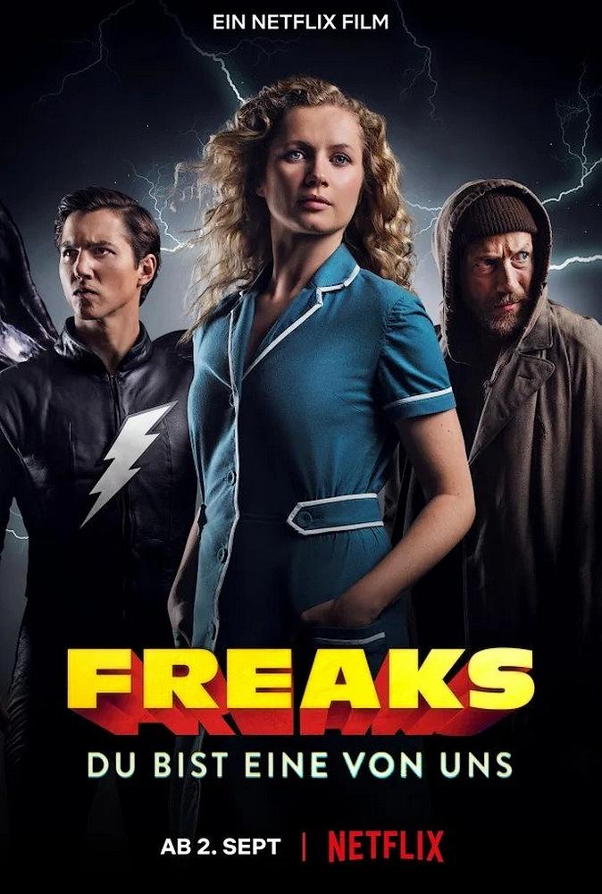 Freaks You're One of Us | Netflix (2020) ฟรีคส์ จอมพลังพันธุ์แปลก