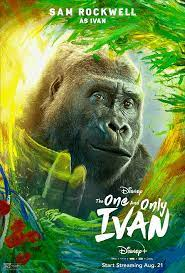 4k The One and Only Ivan (2020)