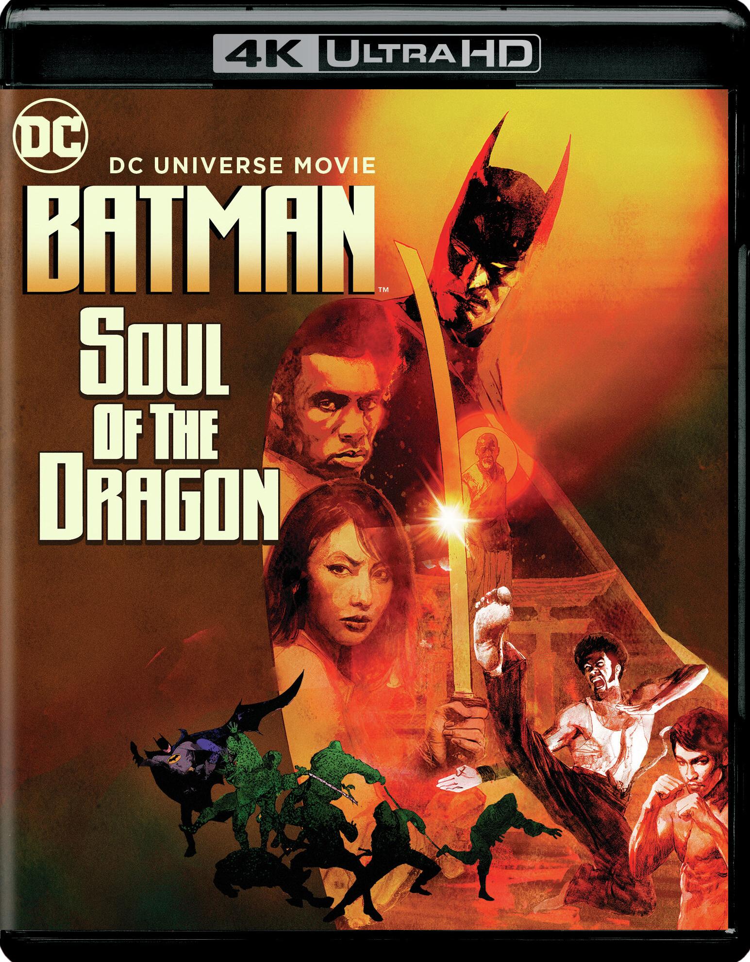 4k Batman Soul Of The Dragon (2021)